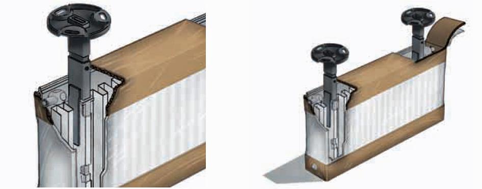 buderus standkonsolen satz f r typ 11 22 33 ebay. Black Bedroom Furniture Sets. Home Design Ideas
